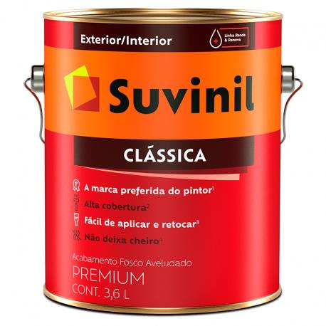 Látex PVA Fosco Clássica Palha 3,6L SUVINIL