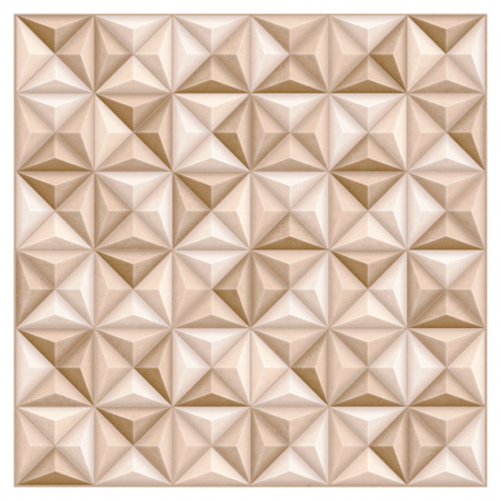 Porcelanato 61,1x 61,1 Cement Vertice Bege 61043 Extra REALCE
