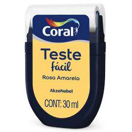 Teste Fácil Rosa Amarela 30ml CORAL